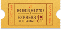 $10 discount coupon for Express Logo Package